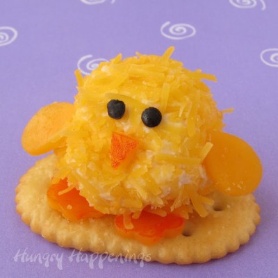 Easter-cheese-ball-chicks-mini-cheese-ball-cheese-ball-chick-decorated-cheese-ball-Easter-food-
